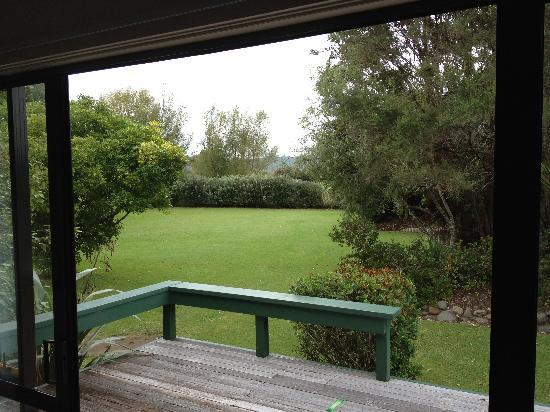 Aotearoa Lodge: The view from our room