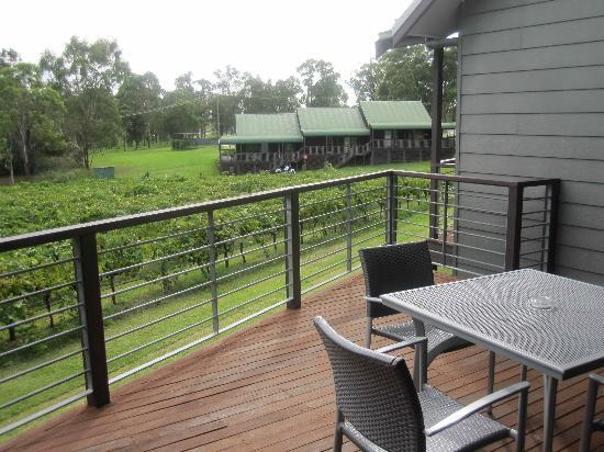 Hermitage Lodge: view from deck