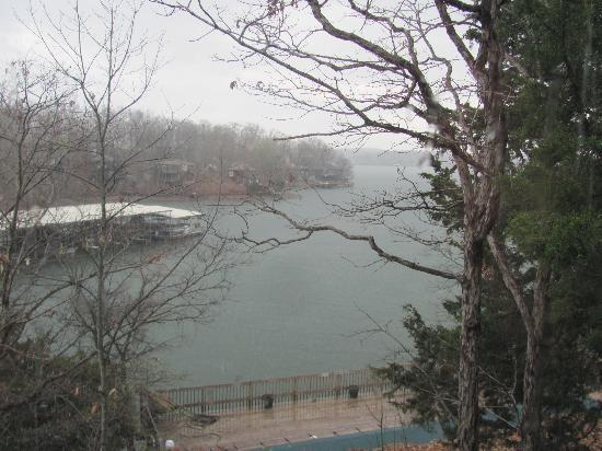 Lake Ozark, MO: View of the cove