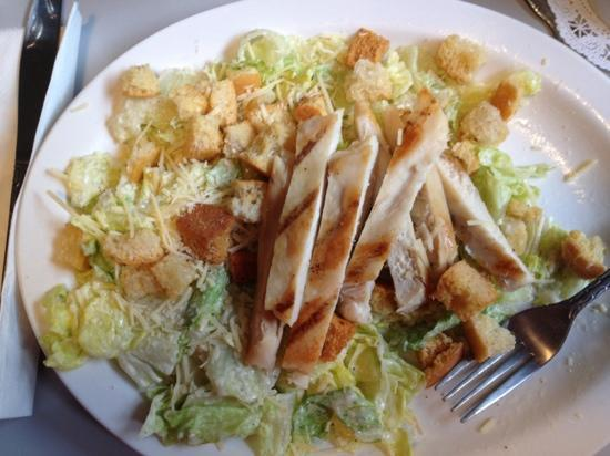 Carver Cafe: My friend's yummy chicken salad