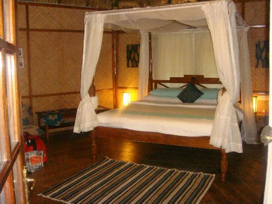 Barefoot at Havelock: The Nicobari cottage from inside
