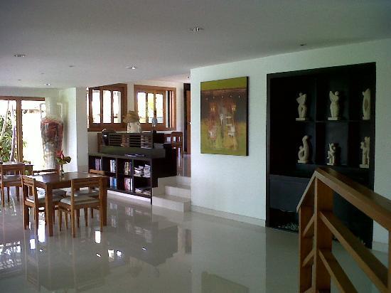 Villa Hening Boutique Hotel & Spa Jimbaran Bali: restaurant