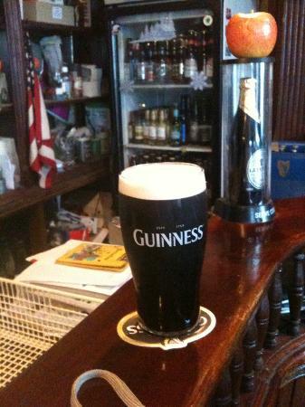 Jordan's American Bar: Great Guinness