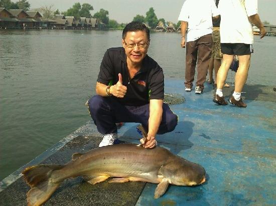 Davit and a nice catch picture of bungsamran fishing for My fishing advisor
