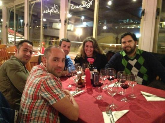Restaurant Stephan : Disfrutando de la cena y las vistas...