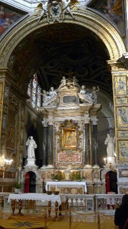 Chiesa di Santa Maria del Popolo: Alter at Santa Maria dell Popolo