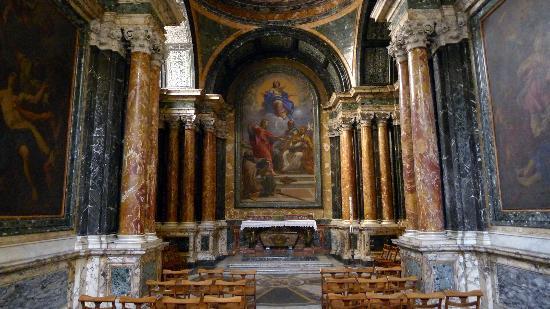 Chiesa di Santa Maria del Popolo: Cybo Chapel at Santa Maria del Popolo