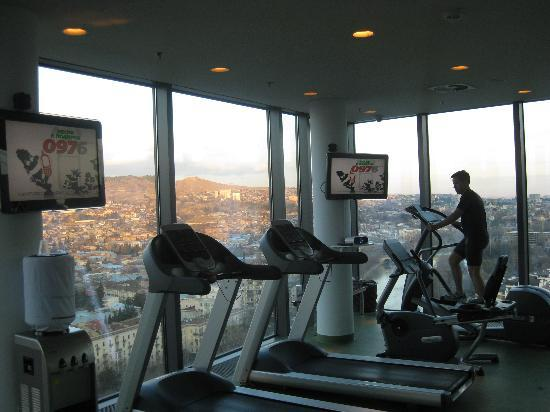 0f1a03d9181 The gym - Picture of Radisson Blu Iveria Hotel