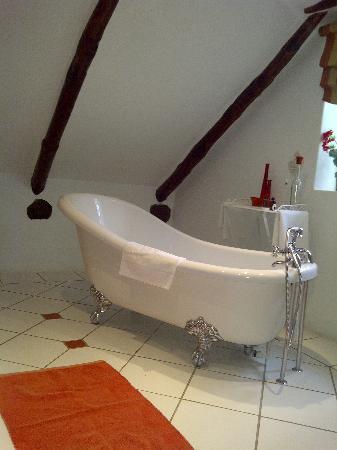 Le Ballon Rouge: The suite's beautiful bathroom