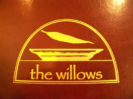 The Willows : The menu