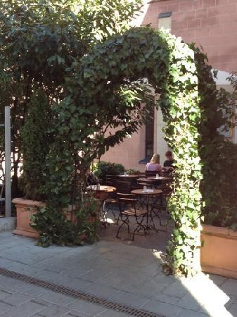 Heilig Geist: The patio