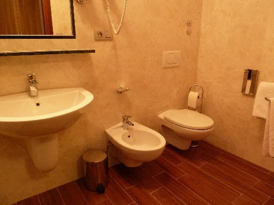 Big bathrooms that were very clean picture of hotel for Hotel galileo prague tripadvisor