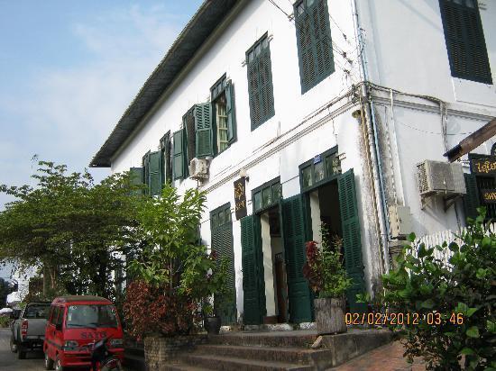 Sayo River Guest House: L'entrata...