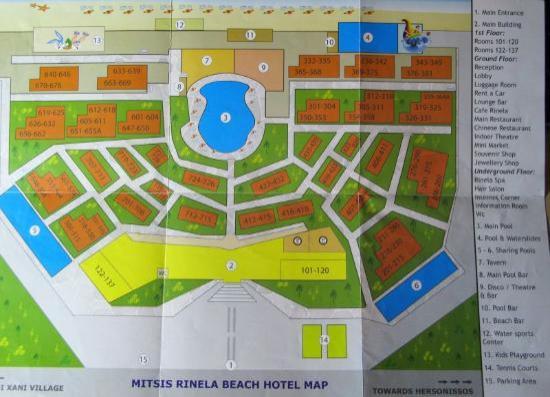 Kreta Hotel Mitsis Rinela Beach