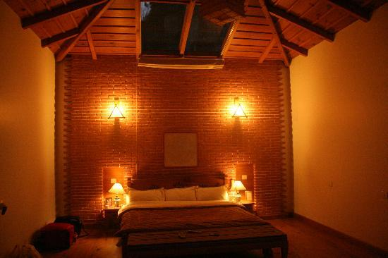 Soulitude in the Himalayas: our bedroom space at Room no 7 Bliss