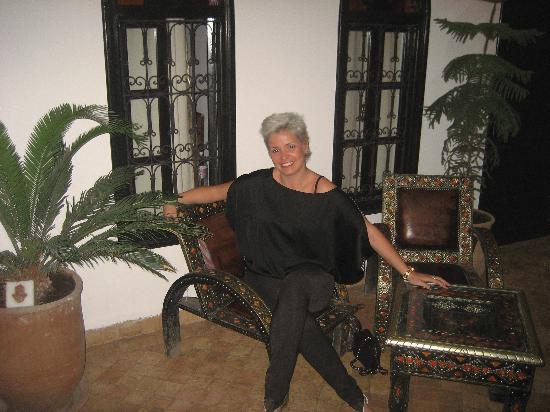 Riad Hannah City Hotel : Átrio