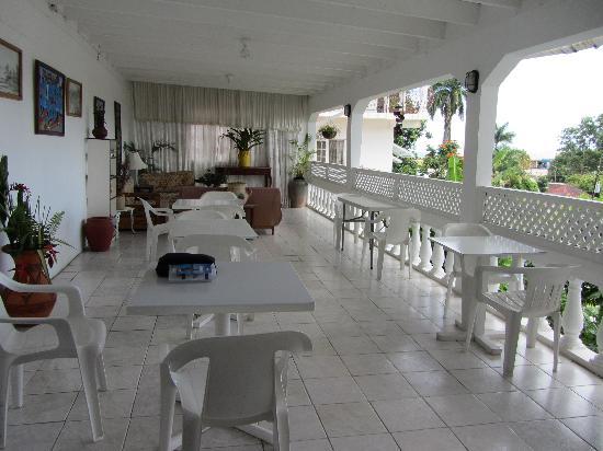 Ivanhoe's Guest House : breakfast area