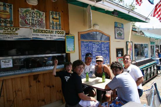 Eric's On The Pier: Eric's a family tradition