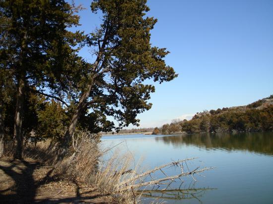 Roman Nose State Park: The Lake