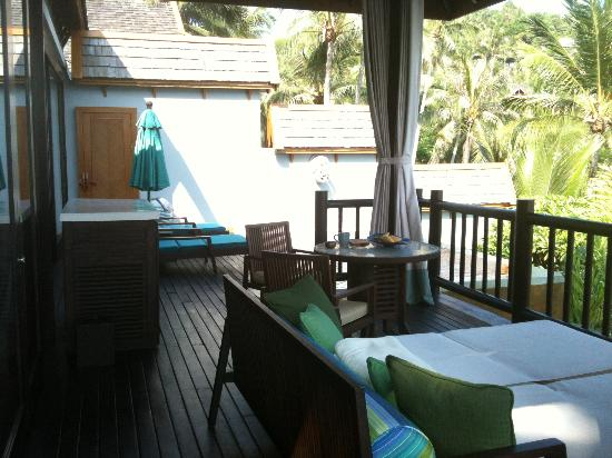 Four Seasons Resort Koh Samui Thailand: Terrace in One Bedroom Villa