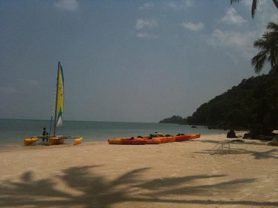 Four Seasons Resort Koh Samui Thailand : Private Beach