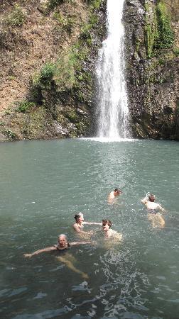 El Encanto: A waterfall we visit