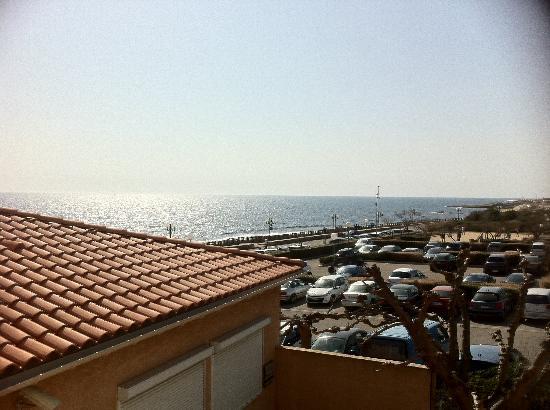 Best Western Hotel Paradou Mediterranee: Vue sur mer