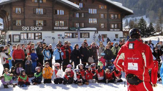 Hotel-Restaurant Alphorn: Ski school prize giveaway