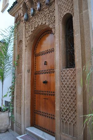 Riad Sidi Fatah : entrance door