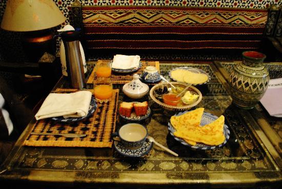 Riad Sidi Fatah : maroccan breakfest