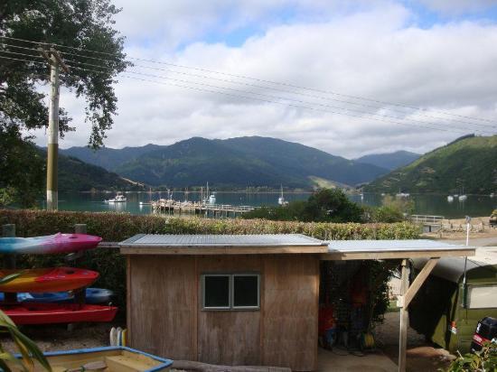 Anakiwa 401: Vista desde nuestra cocina. Excelente ubicación.