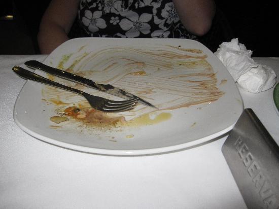 Grill La Brasa: no washing up to do