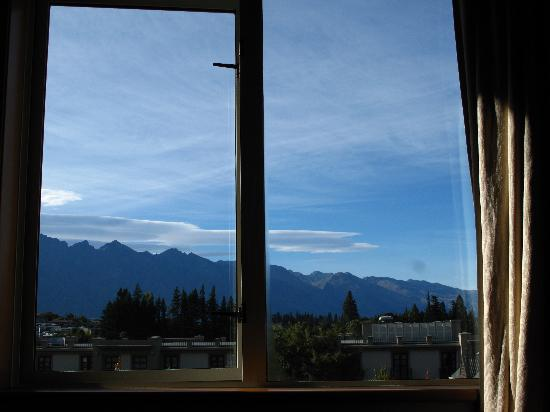 The Dairy Private Hotel: Remarkables view