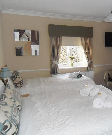 Bowes Incline Hotel: Beds 2