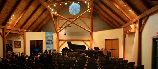 "Putney, VT: The ""Big Barn"" performance Venue"
