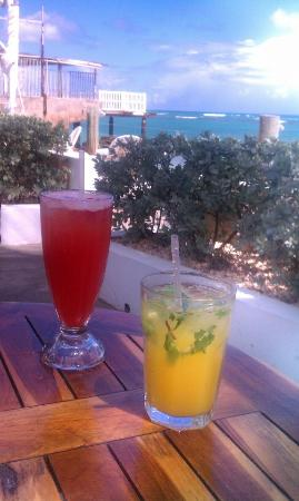 La Playita: love love the manjo mojito