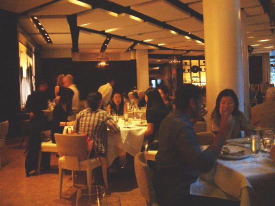 Sorellina : the dining area