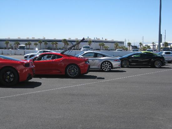 Exotics Racing : A few of the cars in their fleet