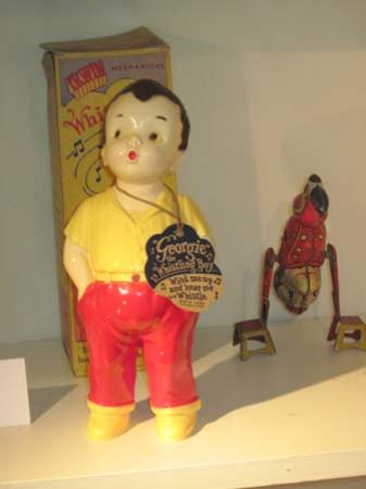 Sharpsteen Museum: Just one of the antique toys on display