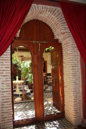 Riad Maipa: Vue depuis notre chambre