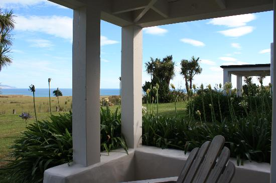 Wharekauhau Country Estate: View from our room