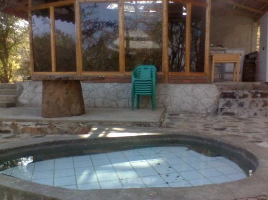 Michoacan, Mexiko: terma caliente cabaña las garzas