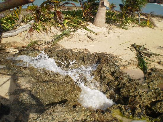 San Andres Island, Colombia: Rocky Cay Blow Hole