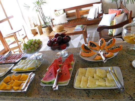 Pousada Caicara: Desayuno