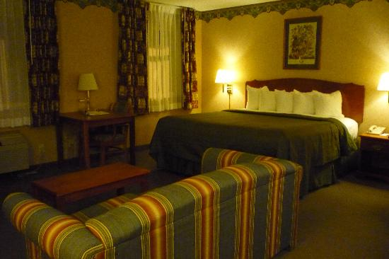 Quality Inn Mineral Point: Great size for the price.