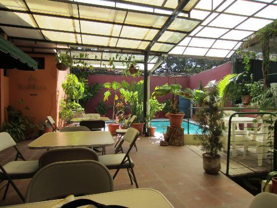 Morrison Hotel de la Escalon: patio