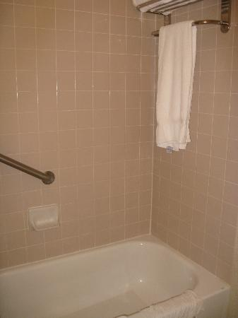 Hilton Boca Raton Suites: tub/shower combo
