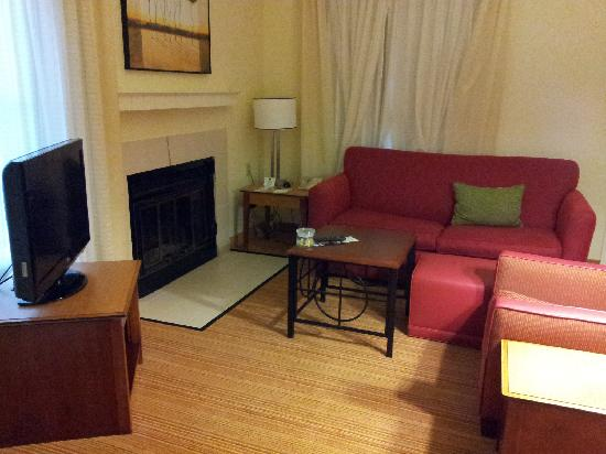 Residence Inn Palo Alto Mountain View: Living room
