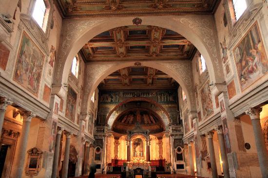 Basilica Di Santa Prassede : Santa Prassede Nave
