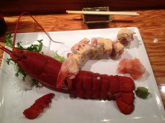 Ikko Japanese Steak House: lobster pineapple tuna roll